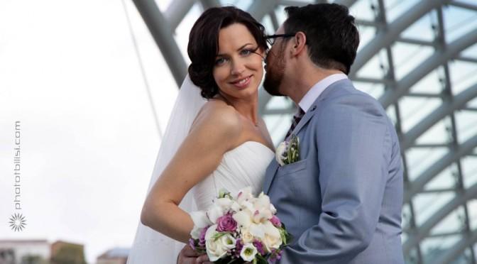 Matrimonio a Tbilisi di Andrea e Katia