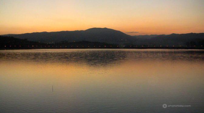 Lago di Lisi tempo libero a Tbilisi