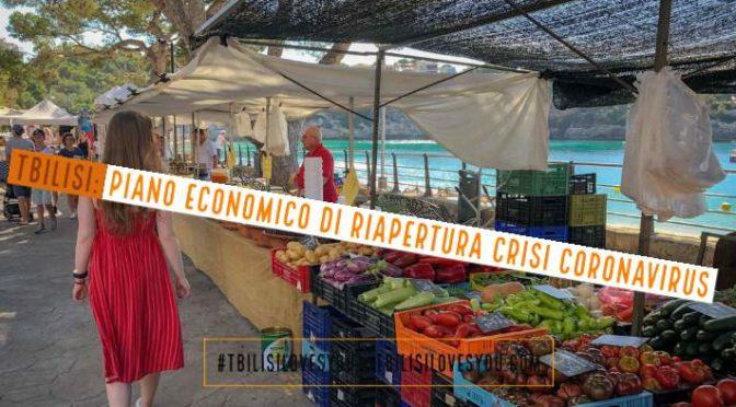 Tbilisi: Piano economico di riapertura crisi coronavirus