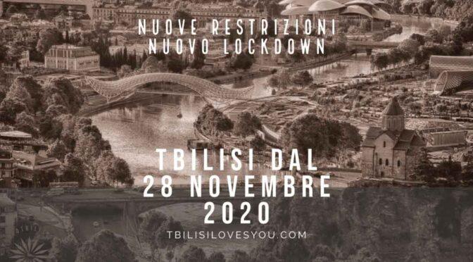 Nuove restrizioni nuovo lockdown dal 28 novembre 2020