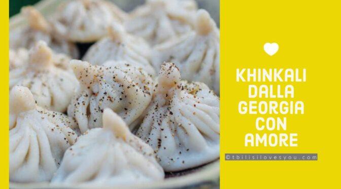 Khinkali piatto tipico georgiano